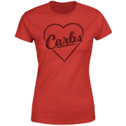 Love Carbs Women's T-Shirt - Red
