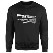 The Best Way To Cut Them Carbs Sweatshirt - Black