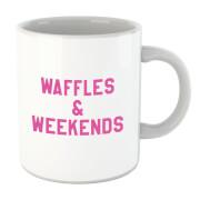 Waffles And Weekends Mug