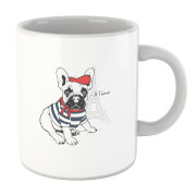 Je T'aime Frenchie Mug