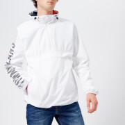 Tommy Jeans Men's Graphic Pullover Hooded Jacket - Classic White - M - White