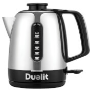 Dualit 72310 Domus Jug Kettle 1.5L - Polished Steel/Black