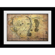 The Hobbit Collector's 50 x 70cm Framed Photograph