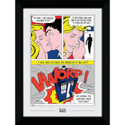Doctor Who Pop Art Collector's 50 x 70cm Framed Photograph