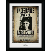 Harry Potter Undesirable No. 1 Collector's 50 x 70cm Framed Photograph