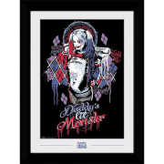 Suicide Squad Harley Quinn Collector's 50 x 70cm Framed Photograph