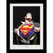 DC Comics Superman Ross Collector 50 x 70cm Framed Photograph