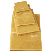 Hugo BOSS Plain Towels - Topaz - Bath Sheet - Yellow