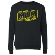 Best Mum In The Galaxy Women's Sweatshirt - Black