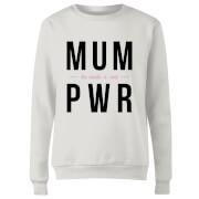 MUM PWR Women's Sweatshirt - White