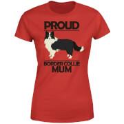 Proud BorderCollie Mum Women's T-Shirt - Red