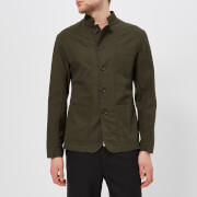 Oliver Spencer Men's Artist Jacket - Kildale Green - 40  Chest/L - Green