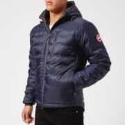 Canada Goose Men's Lodge Hooded Jacket - Admiral Blue/Black - L - Blue