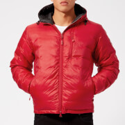 Canada Goose Men's Lodge Hoody Down Jacket - Red/Black