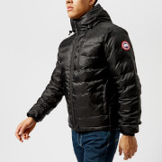 Canada Goose Men's Lodge Hoody Down Jacket - Black/Black - L - Black