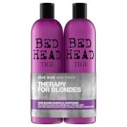 Купить Шампунь и кондиционер для светлых волос TIGI Bed Head Dumb Blonde Repair Shampoo and Reconstructor for Coloured Hair 2 x 750 мл