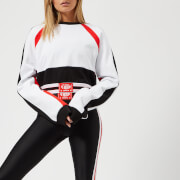 P.E Nation Women's The Cannibal Cropped Sweatshirt - White - L - White