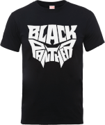 Black Panther Emblem T-Shirt - Schwarz