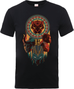 Black Panther Totem T-Shirt - Black