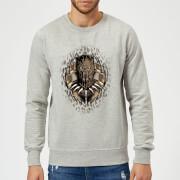 Black Panther Gold Erik Sweatshirt - Grey