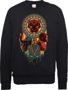Black Panther Totem Sweatshirt - Black