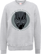 Black Panther Made in Wakanda Sweatshirt - Grau