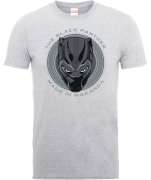 Black Panther Made in Wakanda T-Shirt - Grau