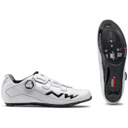 Northwave Flash 2 Carbon Cycling Shoes – White – EU 45/UK 11/US 12 – White