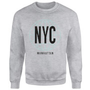 NYC Manhattan Sweatshirt - Grey
