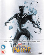 Black Panther 3D Zavvi Exclusive Limited Edition Steelbook (Includes 2D Version)
