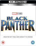 Black Panther 4K Ultra HD (+ Blu-ray) - Steelbook Exclusif Limité pour Zavvi - Édition UK