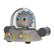 Figura Funko Pop! Rides EXC. Rick en Nave espacial - Rick y Morty