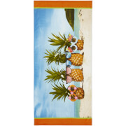 Catherine Lansfield Pineapple Beach Towel - Multi