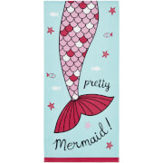 Catherine Lansfield Mermaid Beach Towel - Blue