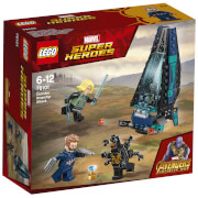 LEGO MARVEL SUPERHEROES: Outrider Dropship-Attacke (76101)