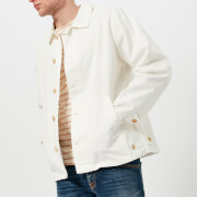 Armor Lux Men's Veste Pecheur Héritage Shirt Jacket - Milk - XL - White