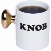 Knob Mug - White