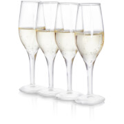 Soiree Champagne Shot Glasses - Clear