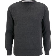 Brave Soul Men's Jones Sweatshirt - Dark Charcoal Marl