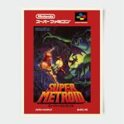 Nintendo Super Famicom Super Metroid Poster
