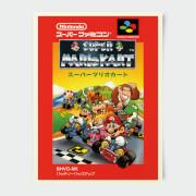 Nintendo Mario Kart Super Famicom Print