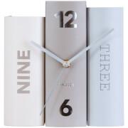 Karlsson Book Table Clock - Basics Paper