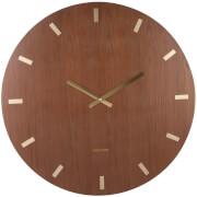 Karlsson Wood XL Wall Clock - Dark Wood