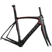 Kuota Kryon Frameset – Matt Grey/Red – XL – Grey/Red