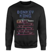 Nintendo Retro Donkey Kong Sweatshirt - Black