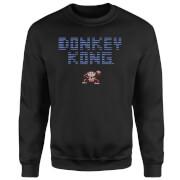 Nintendo Retro Donkey Kong Logo Sweatshirt - Black