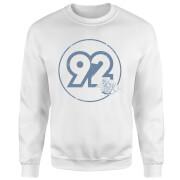 Vintage Mario Racer 92 Sweatshirt - White