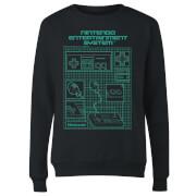Sweat Femme Schéma Manette NES - Nintendo - Noir