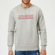 Sweat Homme SNES - Nintendo - Gris