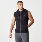 Tru-Fit Sleeveless Hoodie 2.0 - Black